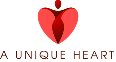 A Unique Heart Logo