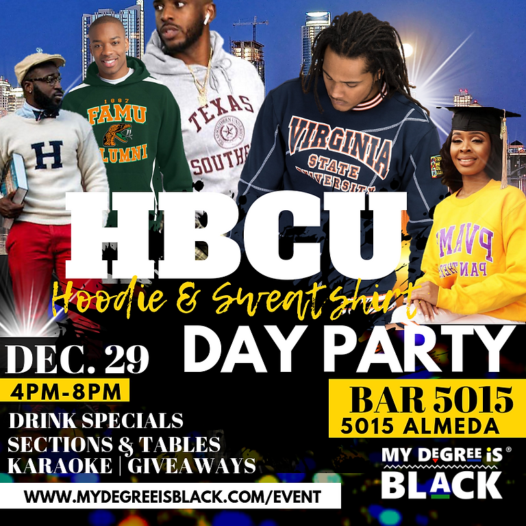 The Official HBCU Hoodie & Sweatshirt Day Party
