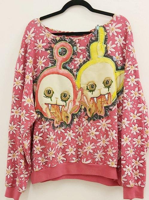 Terrortubbies Oversized Sweatshirt