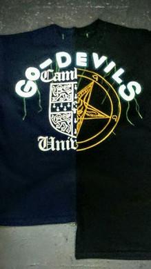 GO-DEVILS upcycled t-shirts. #upcycledcl