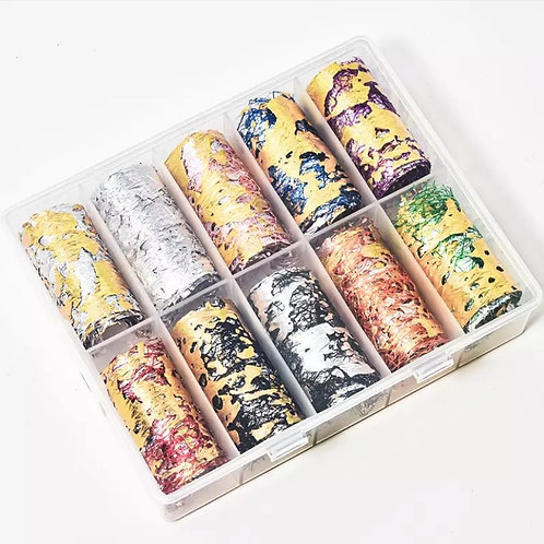 Colorful Foil Rolls