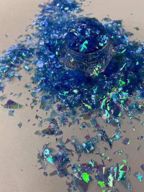 Blazzing Blue Confetti