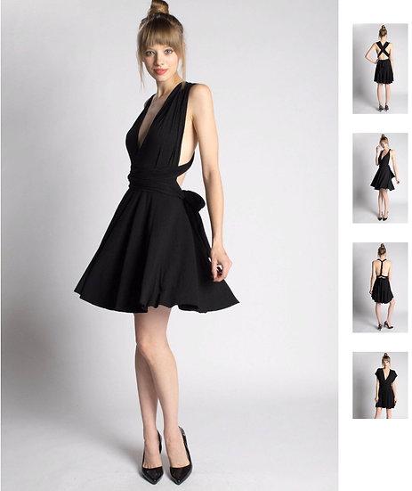 5-in-1 Short Infinity Dress
