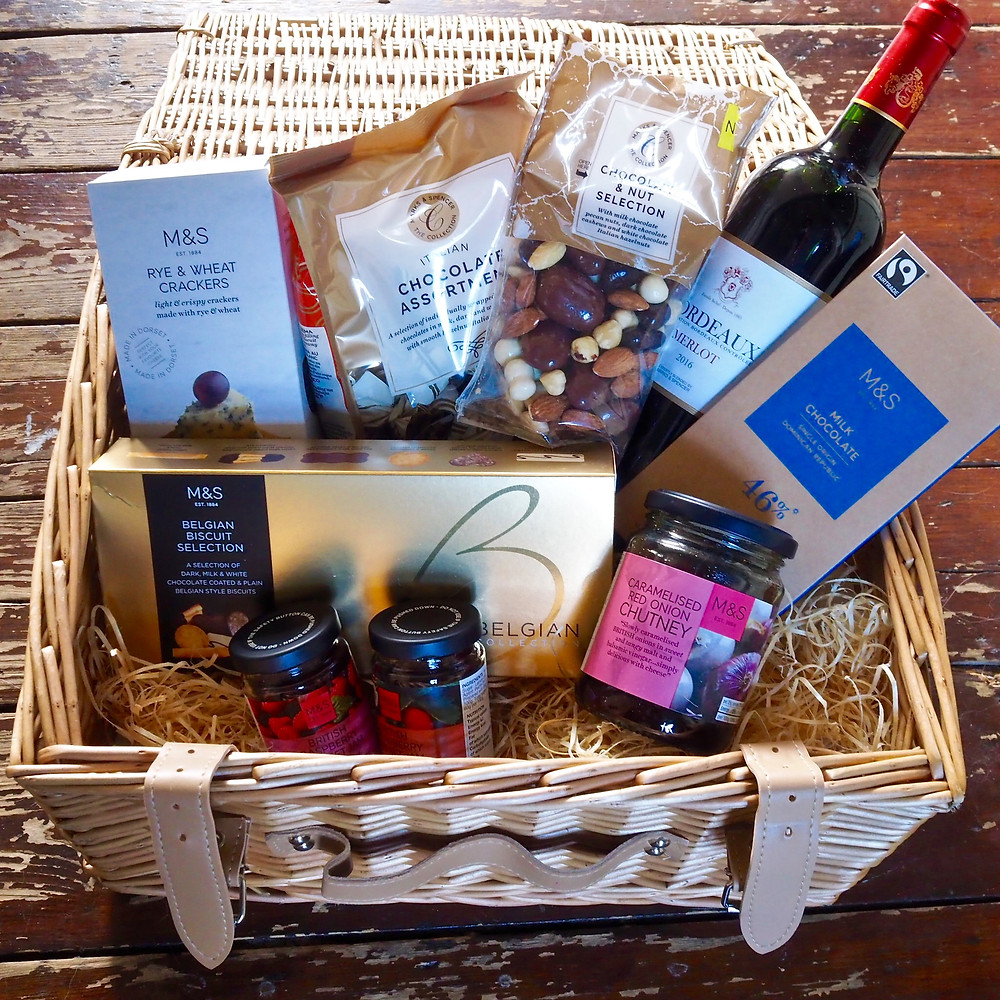 A M&S hamper - a gift idea by Style Me Sunday