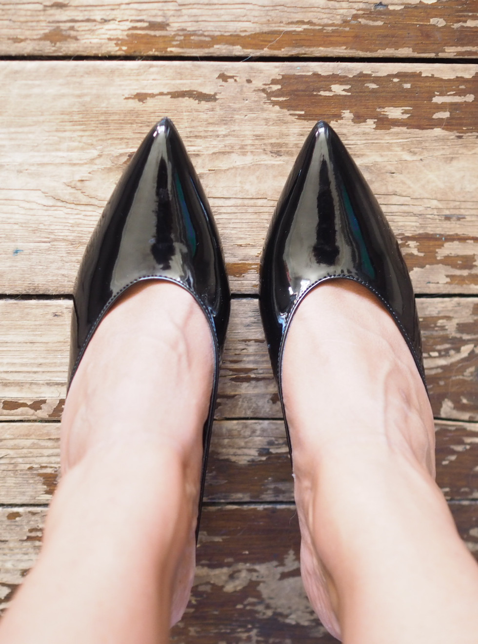 Slip on shoes with Marks and Spencer