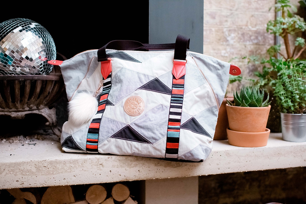 Kipling leisure bag Art M patchwork