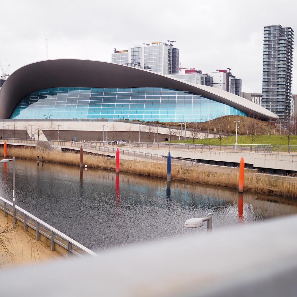 The London Aquatic Centre