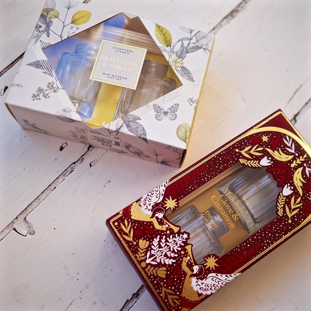 scent diffusers from M&S - gifts ideas from Style Me Sunday