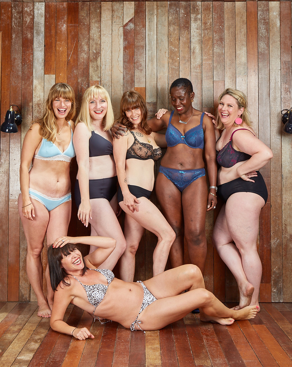a pictures of mums in their underwear for the warrior woman project in partnership with dove organised by Style Me Sunday