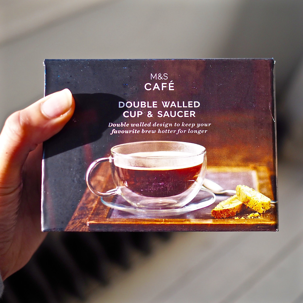 Double walled cup and saucer - Style Me Sunday gift ideas pic