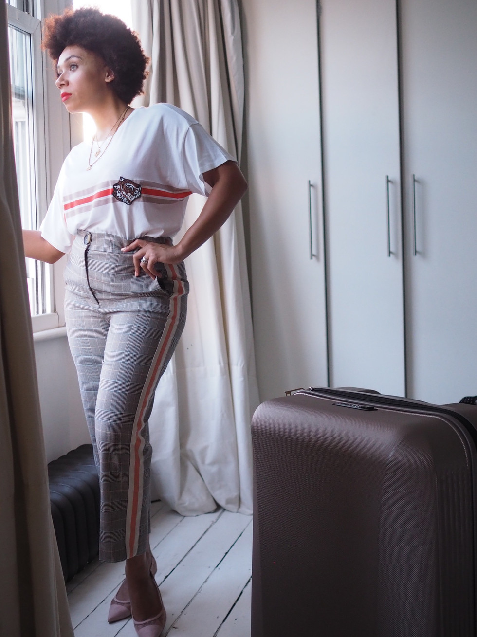 Travelling attire with M&S
