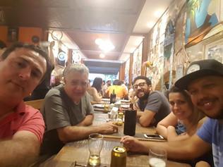 Glauco, Celso Viáfora, Pedro Viáfora, Vivian e Bruno Batista