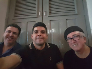 Glauco Luz, Anderson Nóbrega e Aurélio M