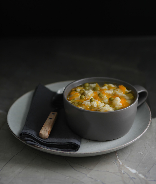 Peas 'N' Dumplings Soup