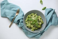 Creamy Spinach Gnocchi