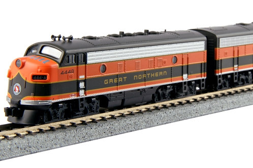 EMD E7A/B Great Northern #444A+444B サウンドデコーダ付 2両セット