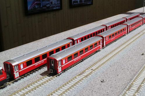 レーティッシュ鉄道 EWⅠ客車 4両基本セット