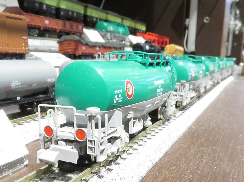 タキ1000 日本石油輸送(米軍燃料輸送列車) 12両セット 反射板付