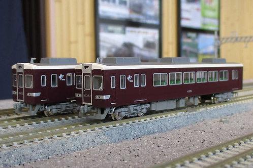阪急6300系(小窓あり)先頭車2両セット
