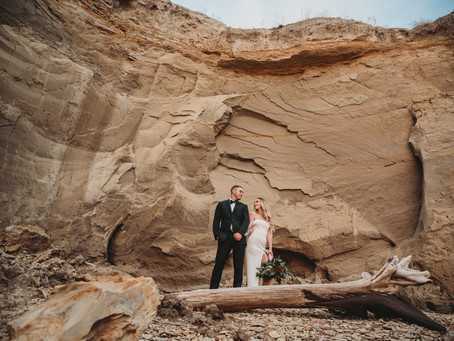 Styled Elopement Shoot | Riverdale, ND | Modern Bohemian