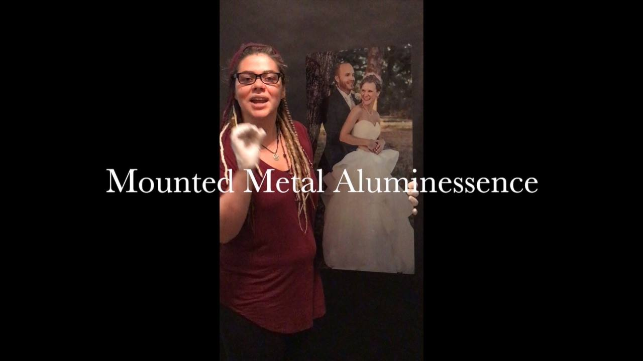 I am now offering Mounted Metal Aluminessence