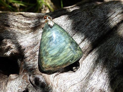 Pendentif Obsidienne Manta Huichol