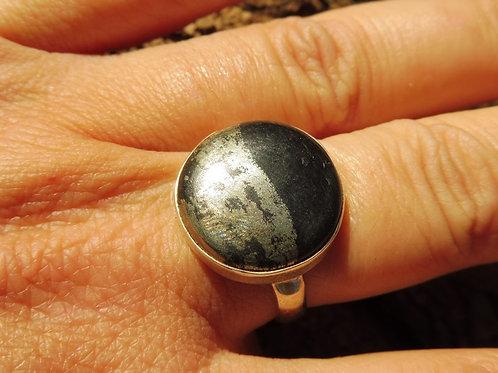 Bague Pyrite Magnétite