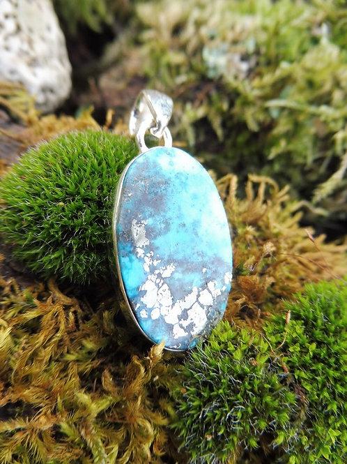 Pendentif Turquoise et Pyrite