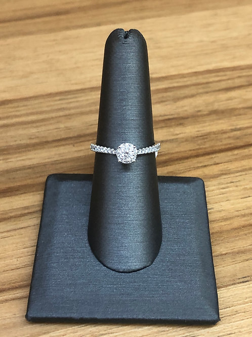 .36 ctw diamond engagement ring