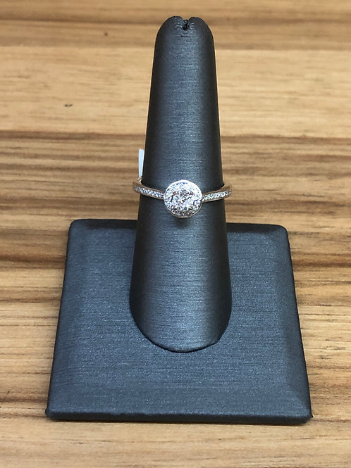 .41 ctw diamond engagement ring