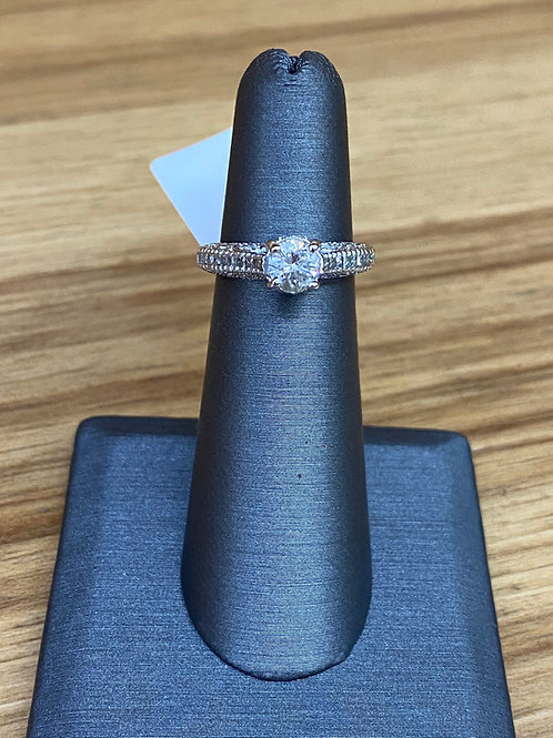 .83 ctw diamond engagement ring
