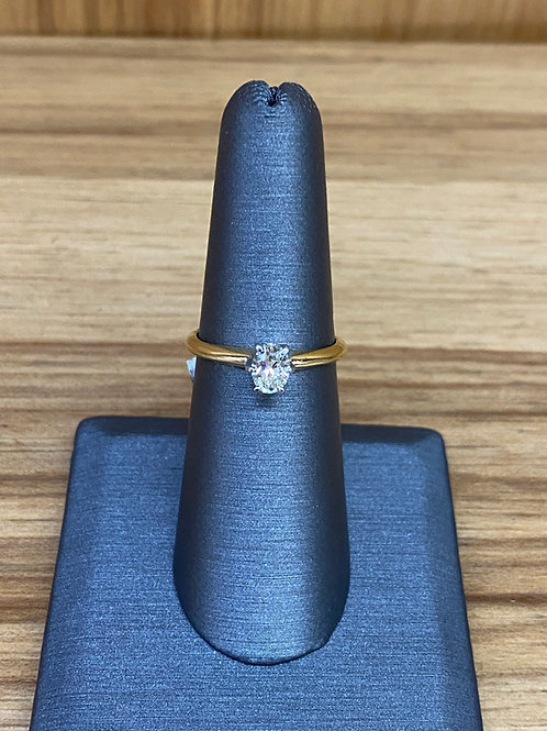 .43 ct oval engagement ring