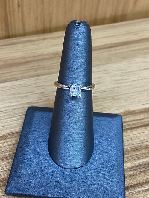 .71 ct princess cut diamond engagement ring