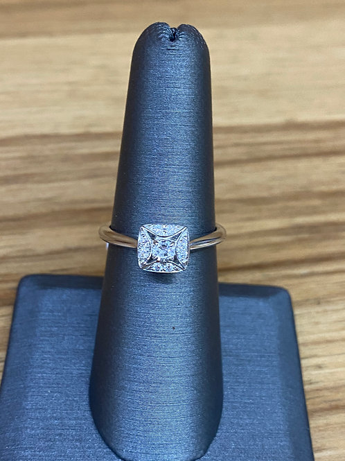 .24 ct diamond engagement ring