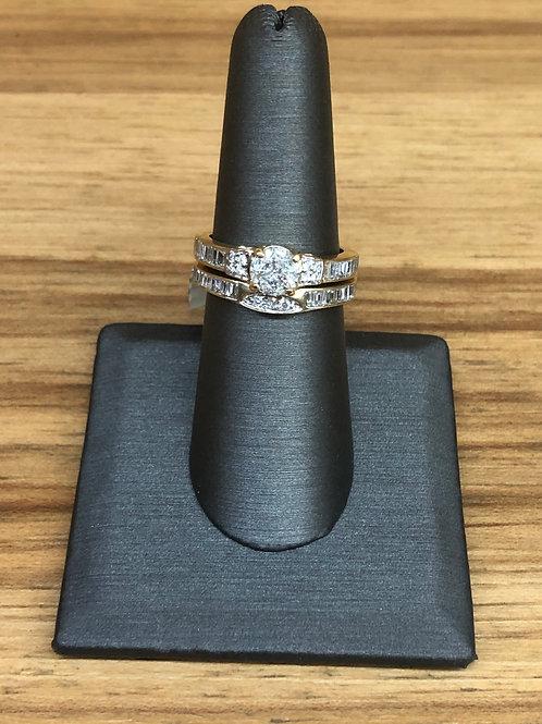 1.46 ctw diamond engagement ring