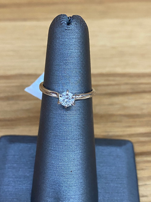 .25 ct round diamond engagement ring