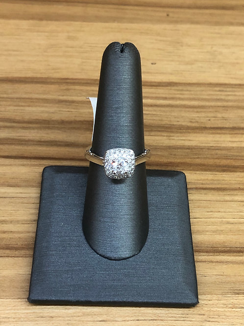 .66 ctw diamond engagement ring