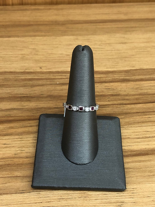 .36 ctw Ruby and diamond ring