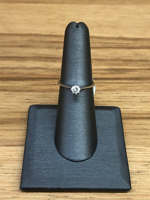 .23 ct round diamond engagement ring