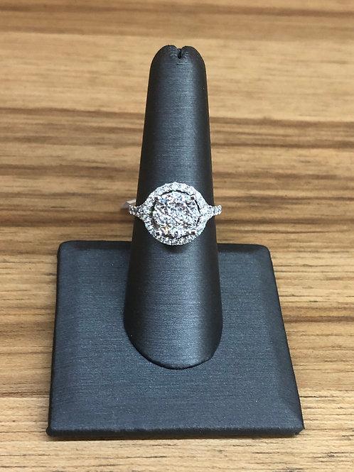 1.67 ctw diamond engagement ring