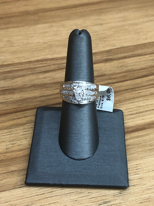 1.36 ctw diamond engagement ring