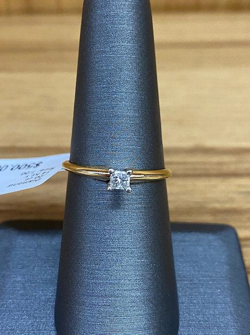 .20 ct princess cut diamond engagement ring