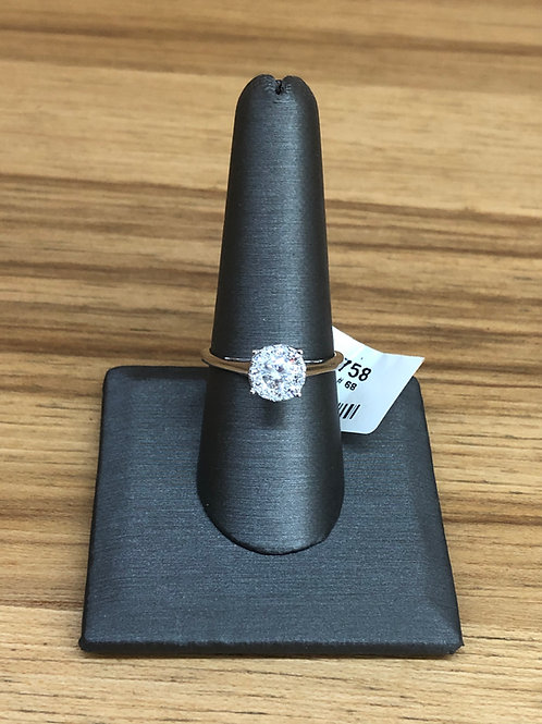 .60 ctw diamond engagement ring