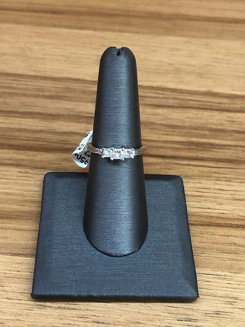 .50 ctw 3 stone diamond ring