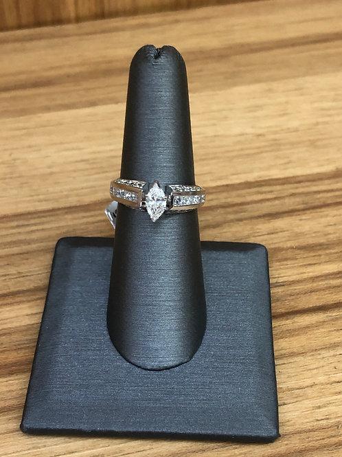 1.49 ctw diamond engagement ring