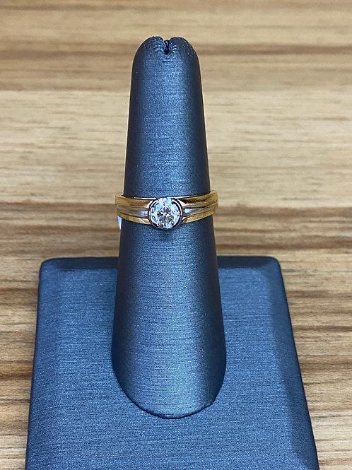 .29 ct round diamond engagement ring