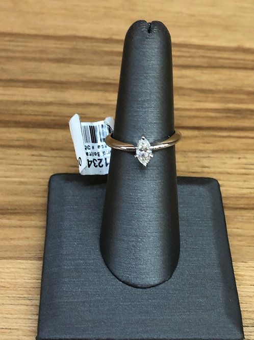 .44 ct marquise diamond engagement ring