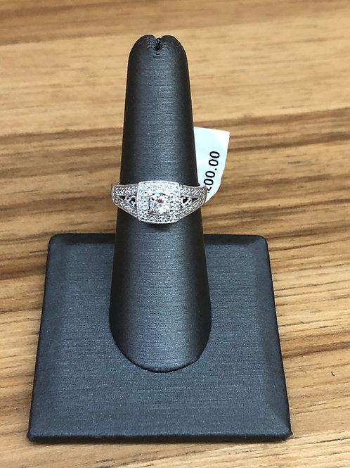 .35 ctw diamond engagement ring