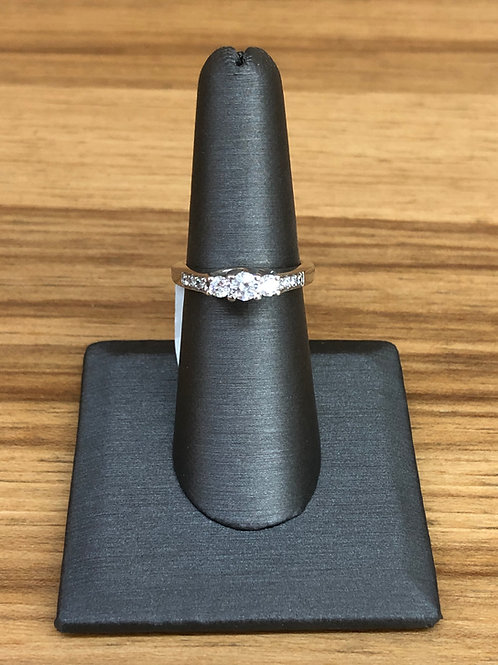 .50 ctw 3 stone diamond ring