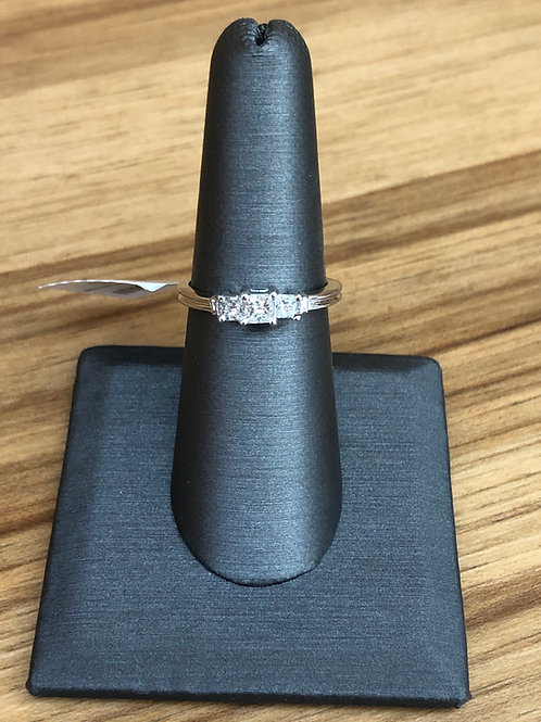 .50 ctw 3 stone ring